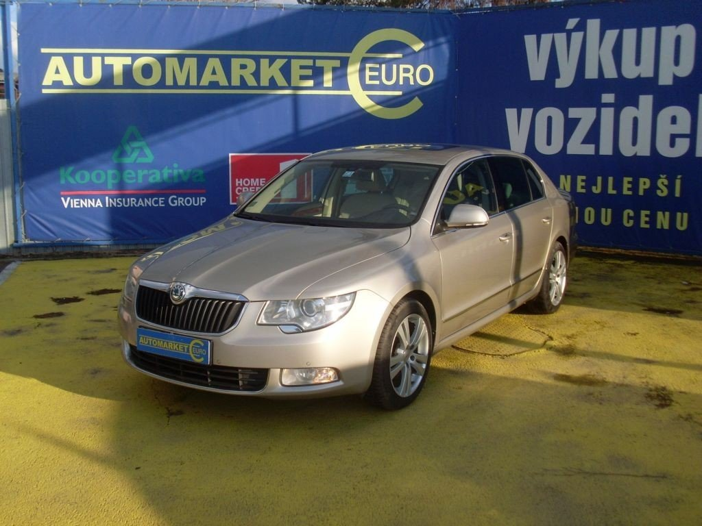 Škoda Superb 2.0TSi 4x4