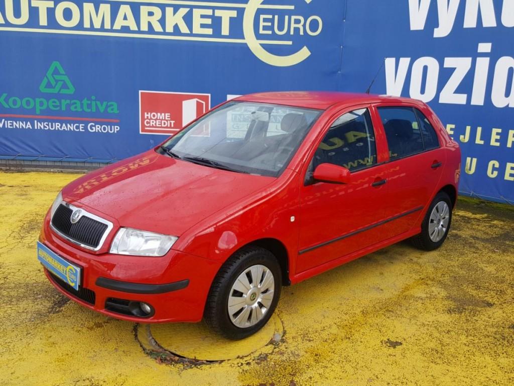 Škoda Fabia 1.2 klimatizace,100% km
