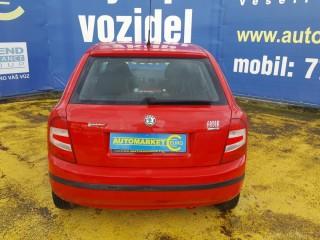 Škoda Fabia 1.2 klimatizace,100% km č.5