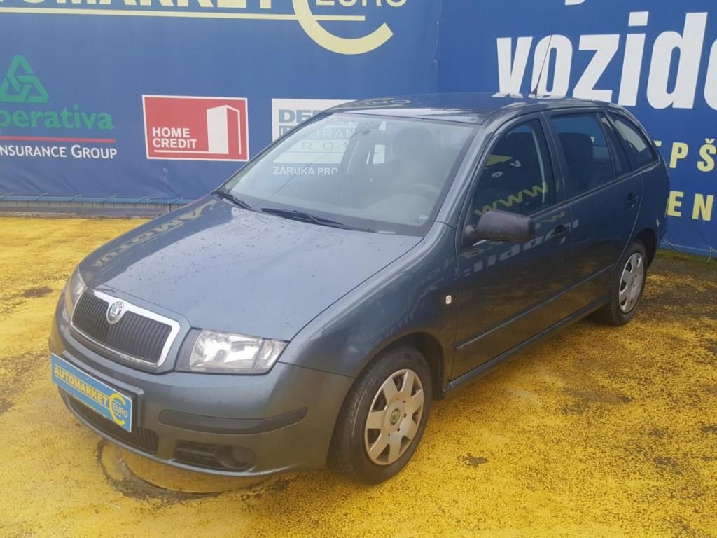 Škoda Fabia 1.2 12V Klimatizace