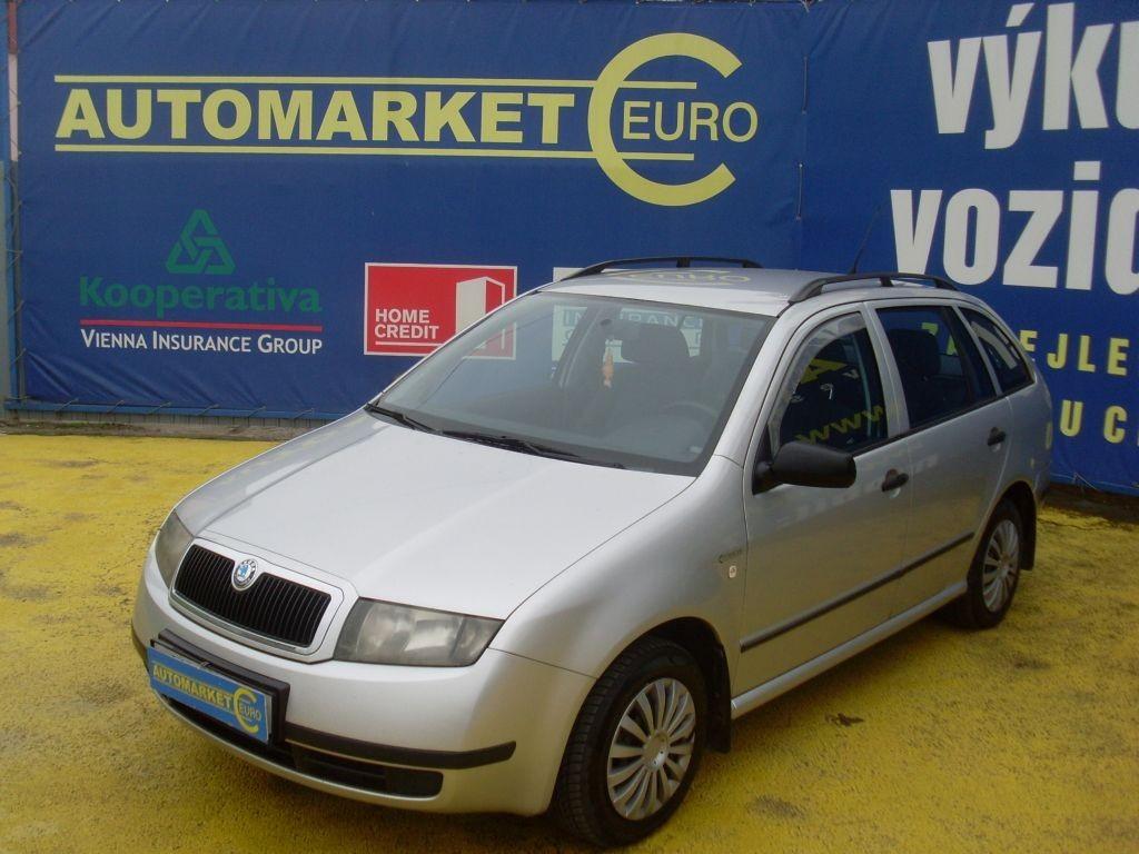 Škoda Fabia 1.4 TDi 55KW 1.Majitel
