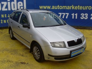 Škoda Fabia 1.4 TDi 55KW 1.Majitel č.2