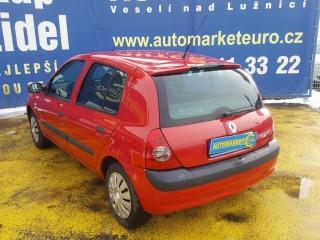 Renault Clio 1.2 16V 55KW Klima č.4