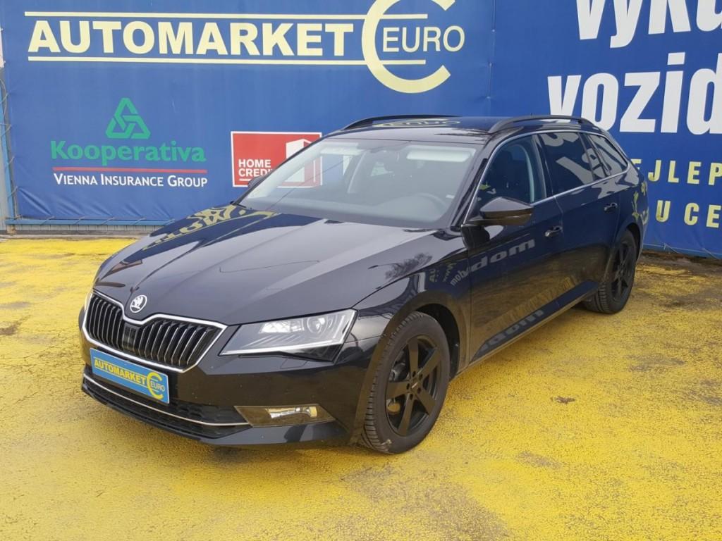 Škoda Superb 2.0 TDi 140KW 4X4, 1.Majitel