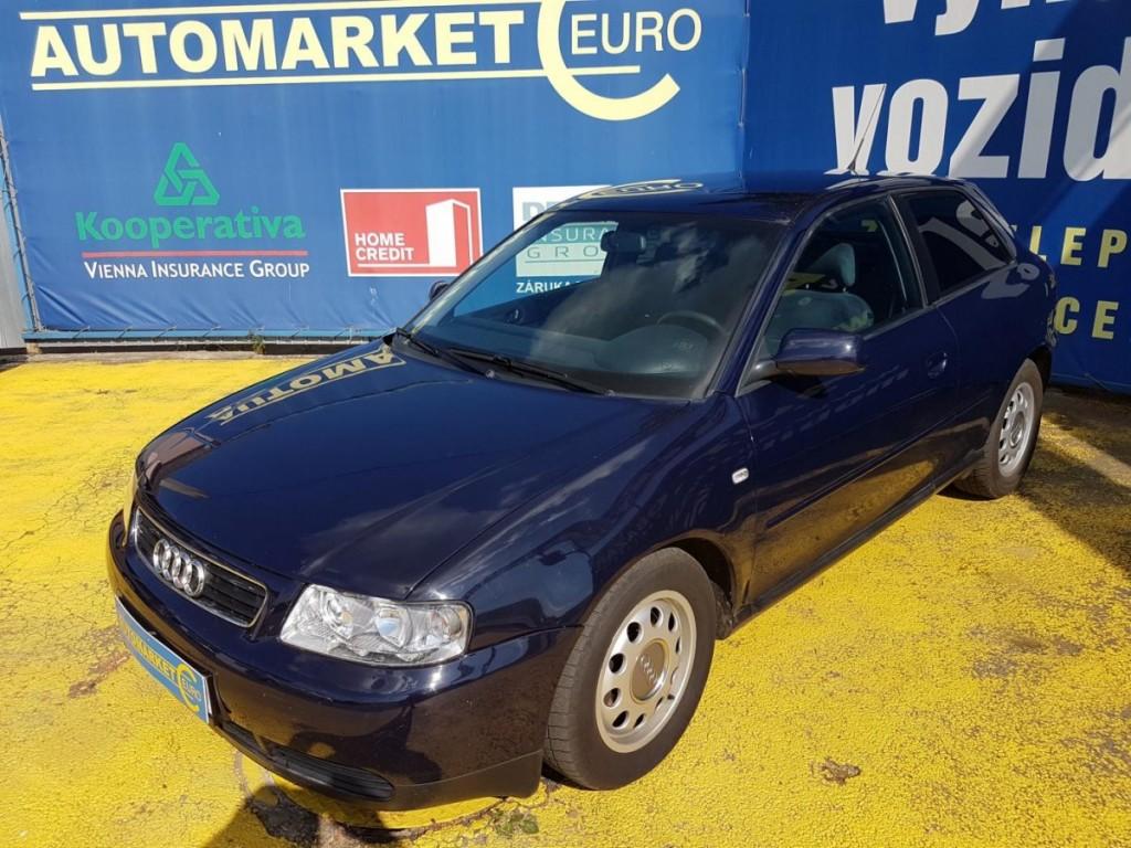 Audi A3 1.8i 20V Digi AC, Kůže
